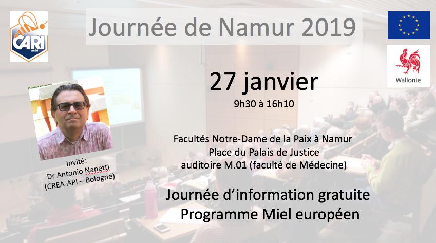Journée Namur 2019